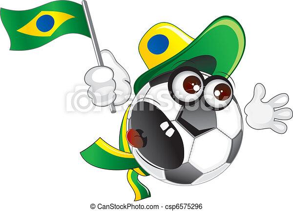 Brazil Fan - csp6575296