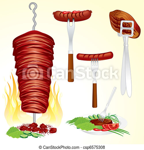 Grilled Meat - csp6575308