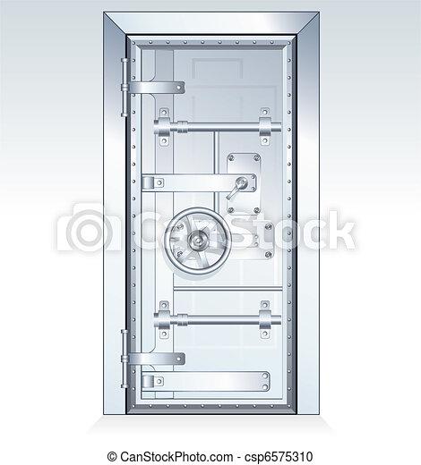 Bank Vault - csp6575310