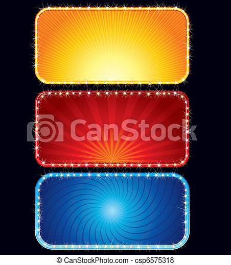 Brightly Neon Sign - csp6575318