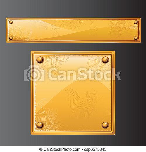 Antique Gold - csp6575345