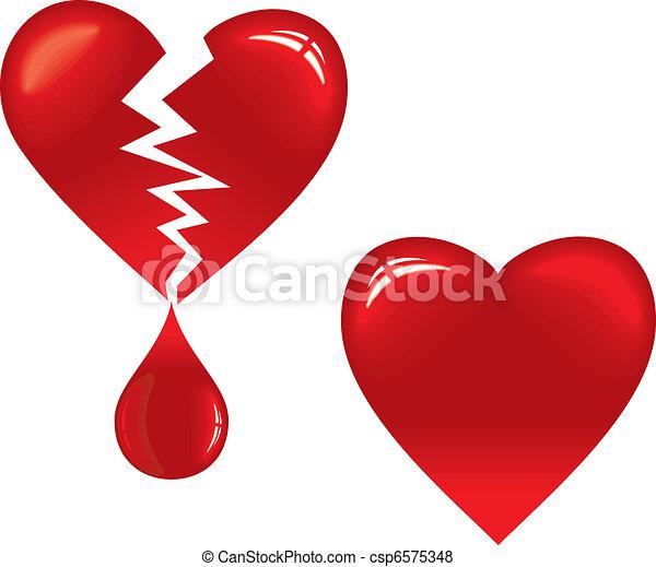 Broken Heart - csp6575348