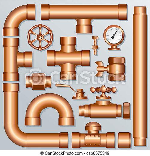 Brass Pipeline - csp6575349