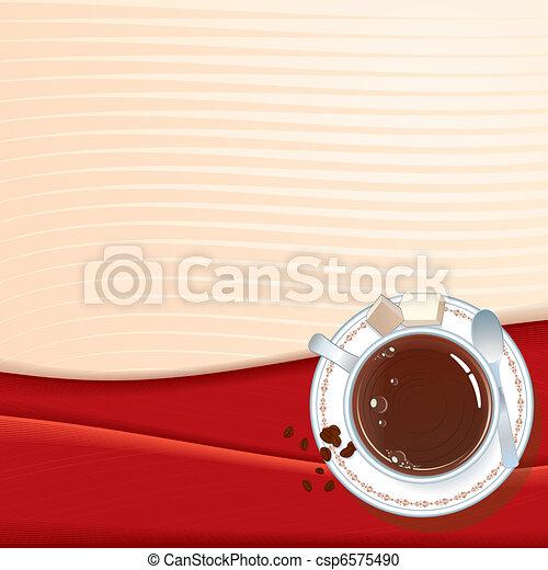 Espresso menu - csp6575490