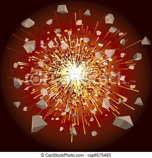 Explosion - csp6575493