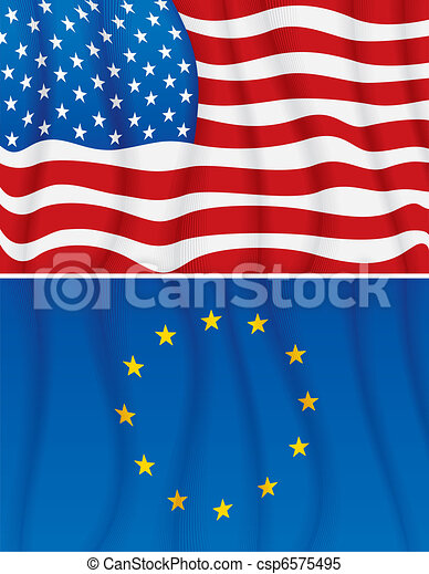 EU and US - csp6575495