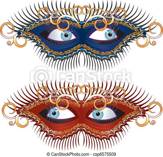 Carnival Mask - csp6575509