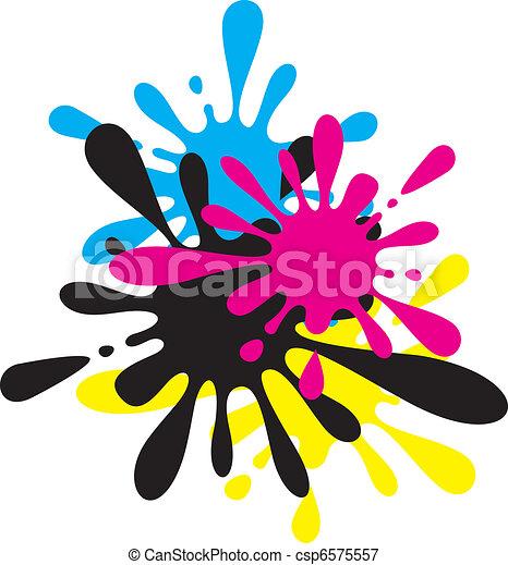 Ink Splodge - csp6575557