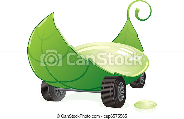 Green car - csp6575565
