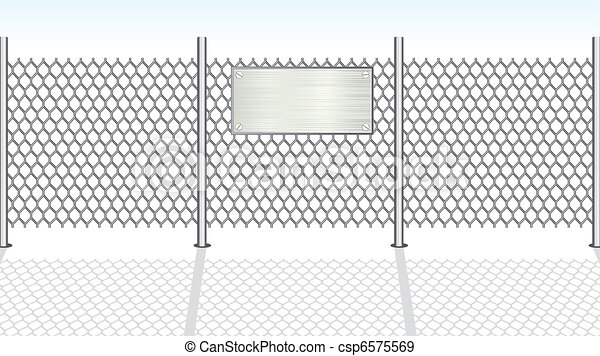 Chainlink Fence - csp6575569