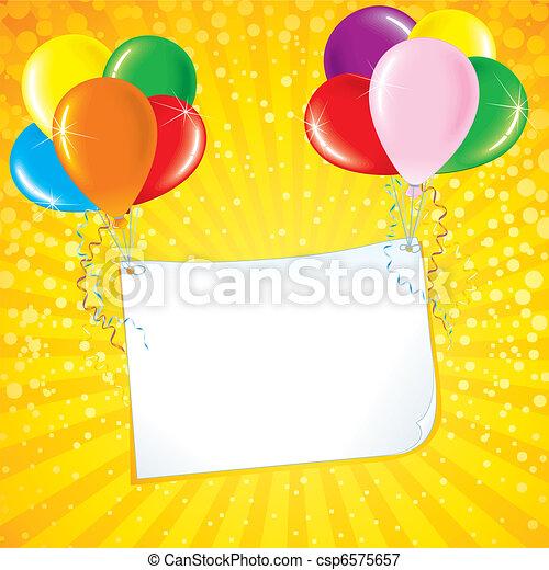 Celebration Card - csp6575657