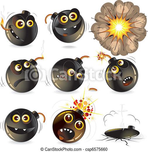 Funny Bomb - csp6575660