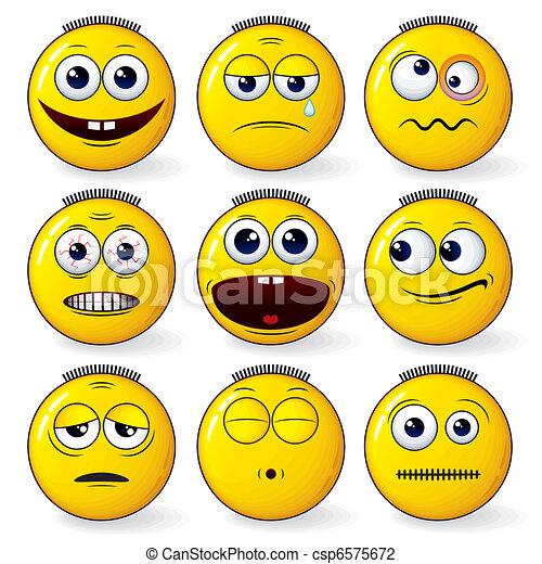 Fun Smileys - csp6575672