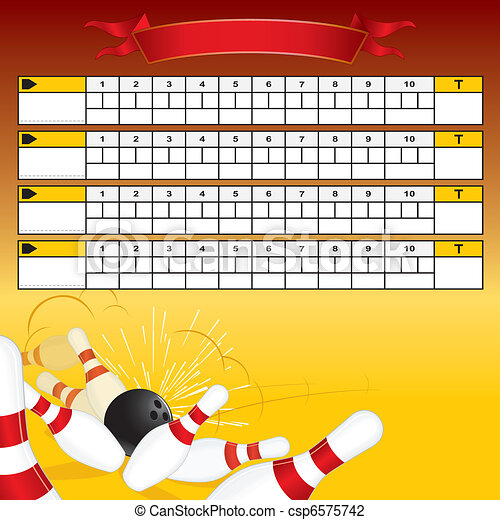 Clip Art Scoreboard Clipart scoreboard clip art and stock illustrations 4528 eps bowling vector template for your text