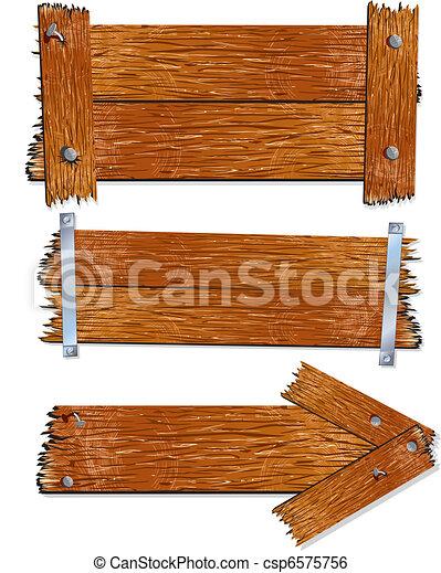 Wood Sign - csp6575756