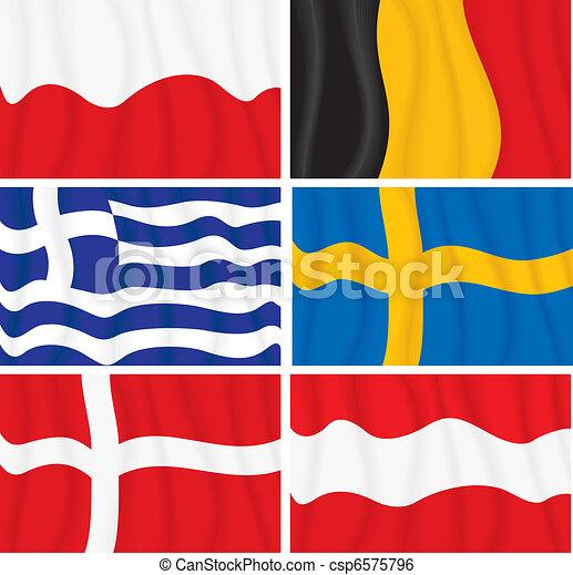 European Flags - csp6575796