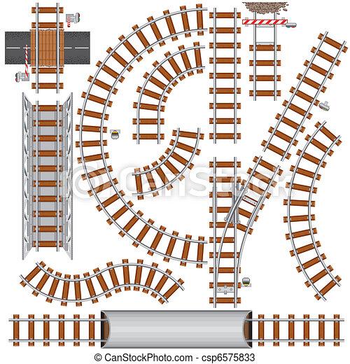 Railroad Elements - csp6575833