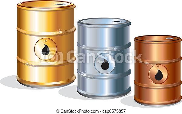 Oil Barrels - csp6575857