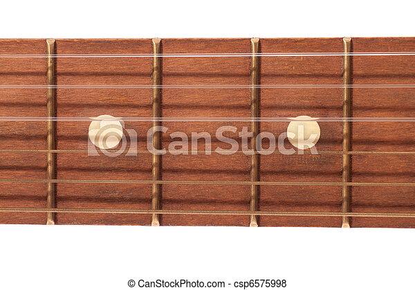 Guitar fretboard  - csp6575998