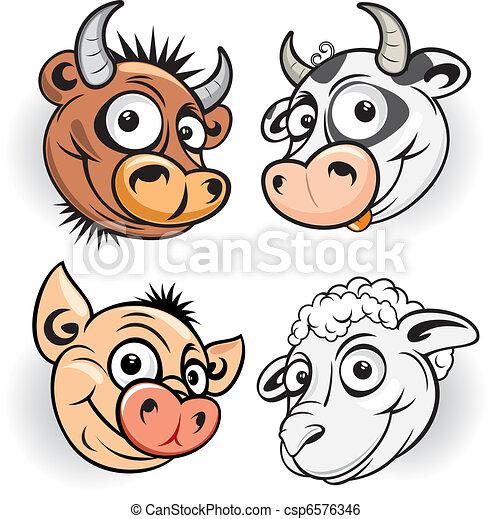 Funny Farm - csp6576346