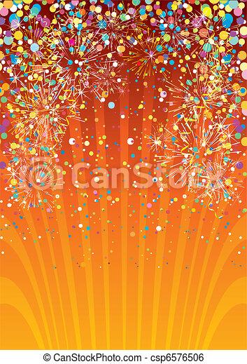 Festive background - csp6576506