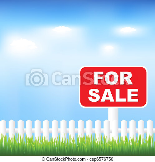 For Sale Sign - csp6576750