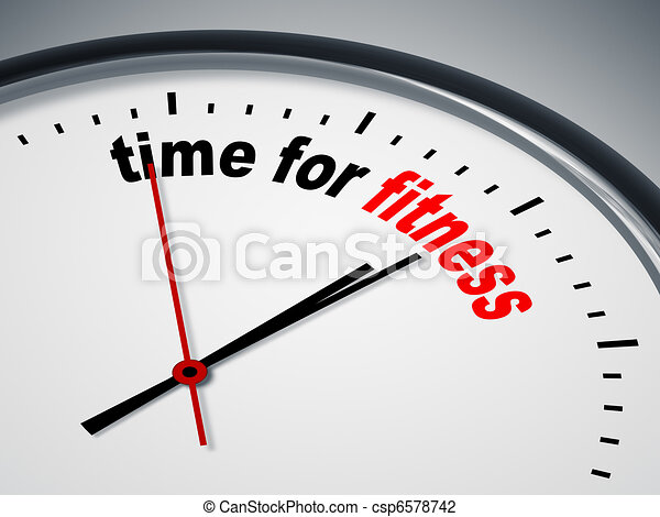 time for fitness - csp6578742