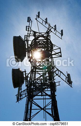 Cellphone antenna tower - csp6579651