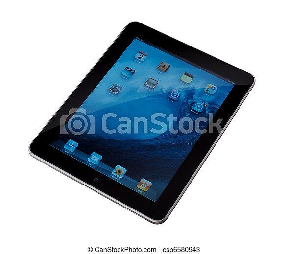 my new ipad - csp6580943