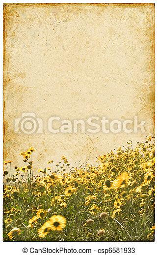 Old Vintage Flowers