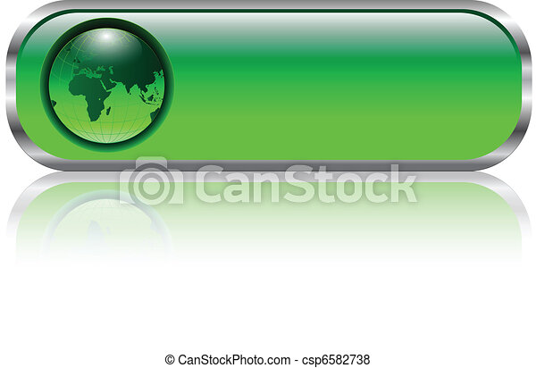 Blank web button - csp6582738