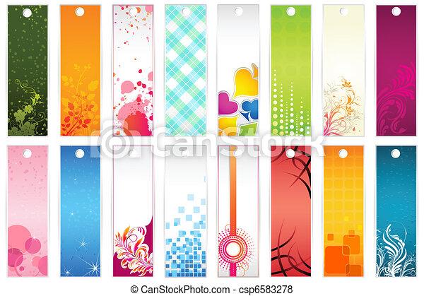 Set of Bookmark - csp6583278