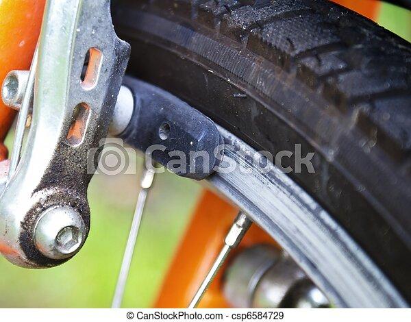 Bicycle brake - csp6584729