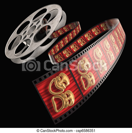 Movie Reel - csp6586351