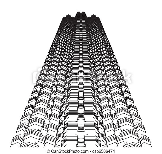Abstract Skyscraper Constructions  - csp6586474