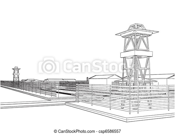 Abstract Military Constructions - csp6586557