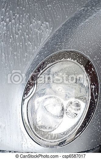 Close Up Car Wash - csp6587017
