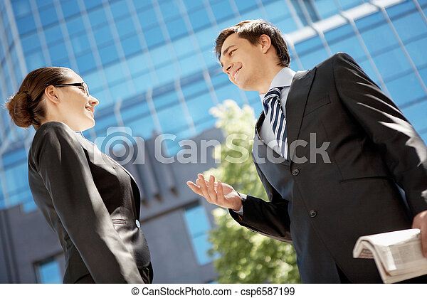 Business communication - csp6587199