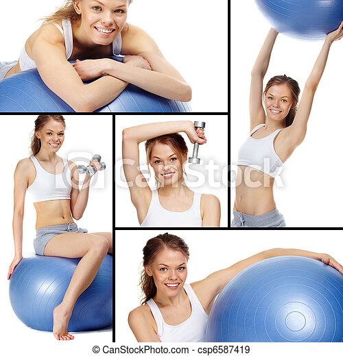 Sportive lifestyle  - csp6587419