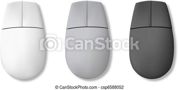 Computer mouse. Vector - csp6588052