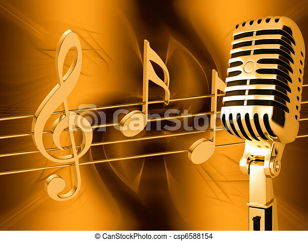 drawing of microphone on abstract musical background csp6588154 search clip art illustrations. Black Bedroom Furniture Sets. Home Design Ideas
