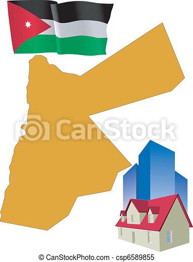 hotel in Jordan - csp6589855