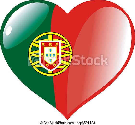 Vecteur de coeur portugal portugal dans coeur csp6591128 recherchez des images graphiques - Dessin drapeau portugal ...