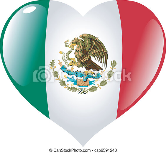 Mexico in heart - csp6591240