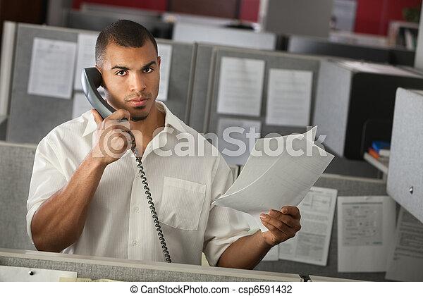 Man At Work - csp6591432
