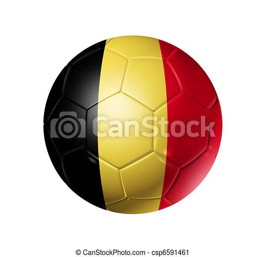 Clipart van belgie voetbal vlag bal voetbal 3d voetbal bal met csp6591461 zoek - Sterke witte werpen en de bal ...