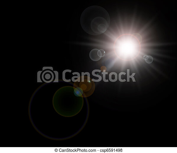 Star, sun background - csp6591498