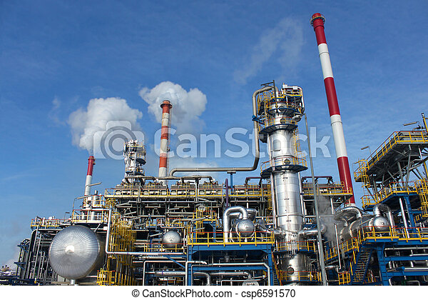 Heavy industry factory - csp6591570
