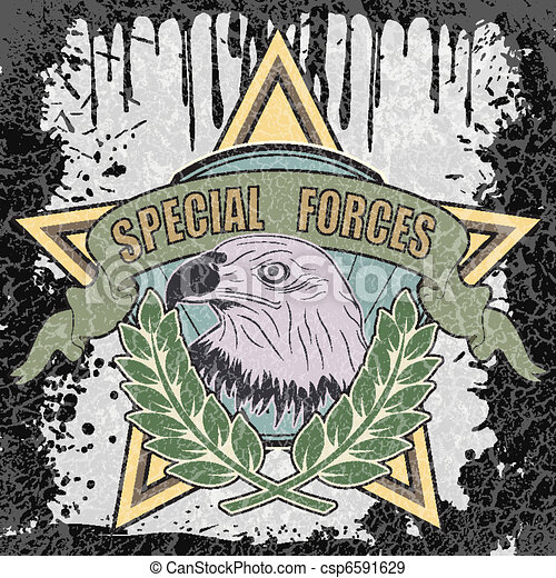 Special forces symbol - csp6591629