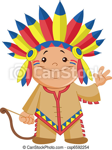 Indian kid - csp6592254